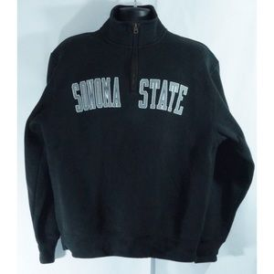 Sonoma State University 1/4 Zip Sweatshirt L